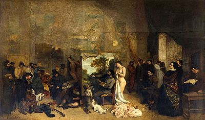 400px-Courbet_LAtelier_du_peintre
